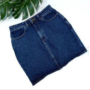 American Apparel jean  denim skirt